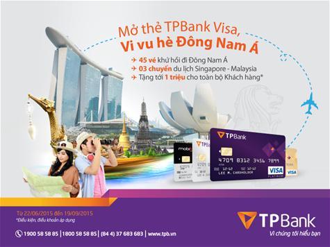 Khuyến mãi hấp dẫn đi Singapore cùng TPBank